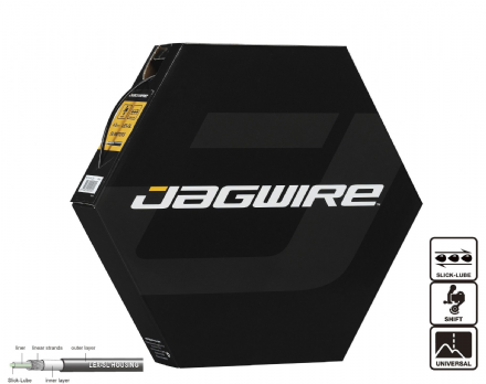 Jagwire Slick Lube Outer Gear Cable Housing - 50 Metre Bulk Box